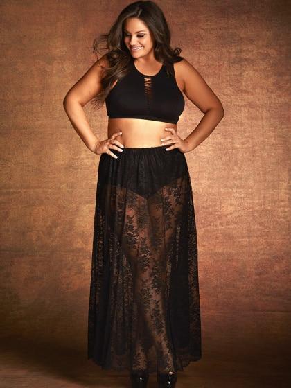 hc7105_plus-size-scalloped-hem-stretch-lace-maxi-skirt_black_alt5